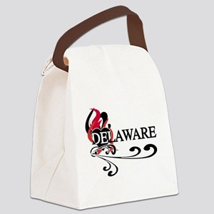FIREHEARDELAWRE Canvas Lunch Bag