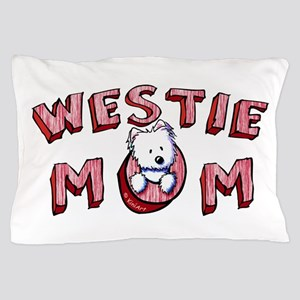 Westie Mom (Red) Pillow Case