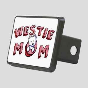 Westie Mom (Red) Rectangular Hitch Cover
