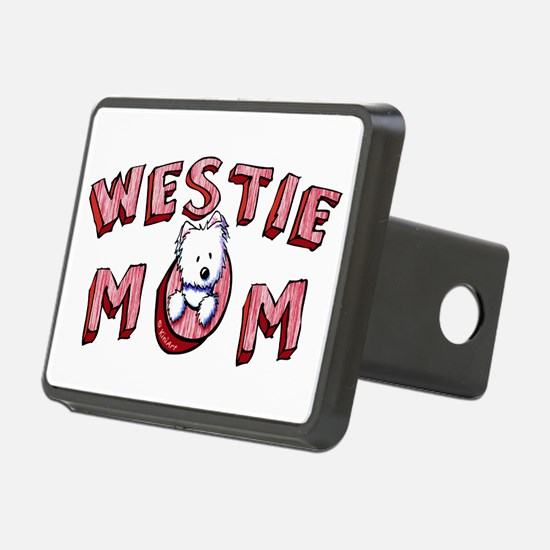 Westie Mom (Red) Hitch Cover