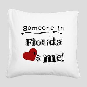 lovesmeflorida Square Canvas Pillow