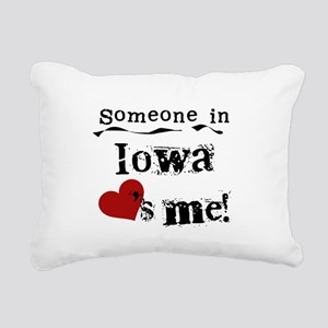 LOVESMEIOWA Rectangular Canvas Pillow