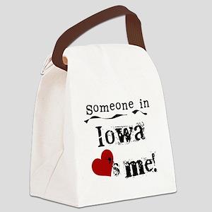 LOVESMEIOWA Canvas Lunch Bag