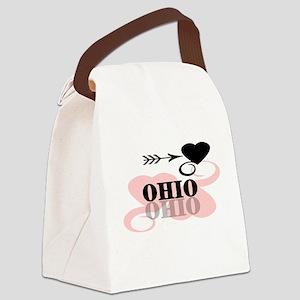 PINKHEARTOHIO Canvas Lunch Bag