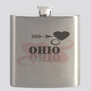 PINKHEARTOHIO Flask