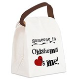 Oklahoma Canvas Lunch Bag