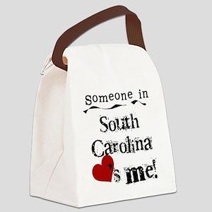 lovesmesouthcarolina Canvas Lunch Bag