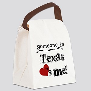 lovesmetexas Canvas Lunch Bag