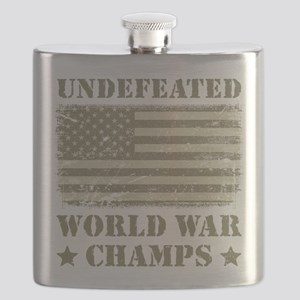 World War Champs Camo Flask
