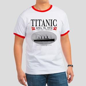 Titanic Ghost Ship (white) Ringer T