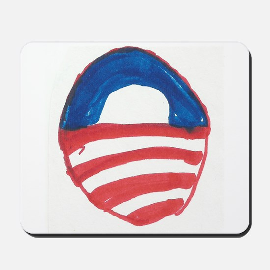 Obama O Mousepad