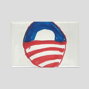 Obama O Rectangle Magnet