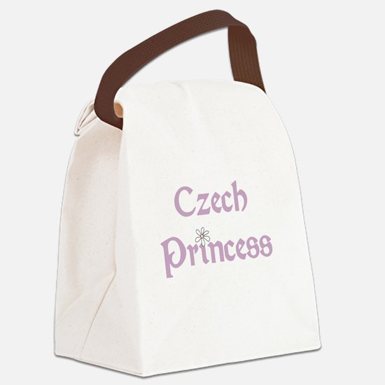 Czech Princess Canvas Lunch Bag
