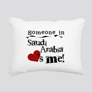 lovesmesaudiarabia Rectangular Canvas Pillow