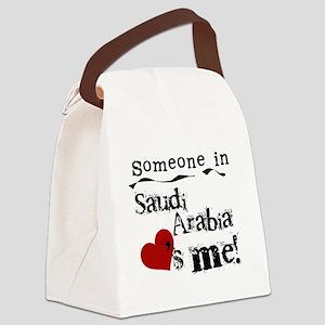 lovesmesaudiarabia Canvas Lunch Bag