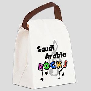 statessaudiarabia Canvas Lunch Bag