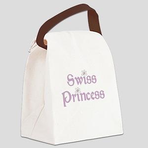 Swiss Princess Canvas Lunch Bag