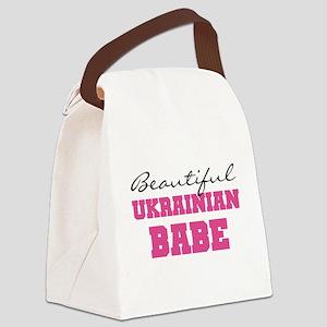 Ukrainian Babe Canvas Lunch Bag