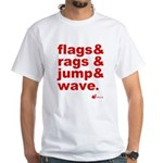 Flags + Rags + Jump + Wave T-Shirt