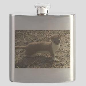 Cute weasel Flask