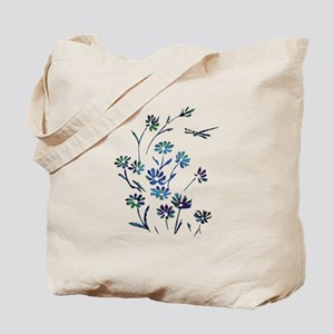 Daisy Dragonfly Mellow Tote Bag