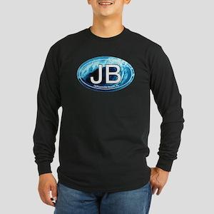 JB Jacksonville Beach Wave Long Sleeve Dark T-Shir