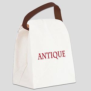 Antique Canvas Lunch Bag