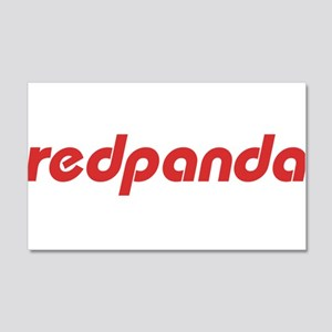 Red Panda - Plain 20x12 Wall Decal