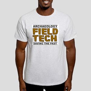 Archaeology Field Tech Ash Grey T-Shirt