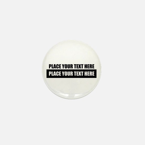 Text message Customized Mini Button