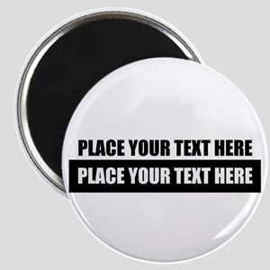 Text message Customized Magnets