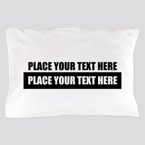 Text message Customized Pillow Case