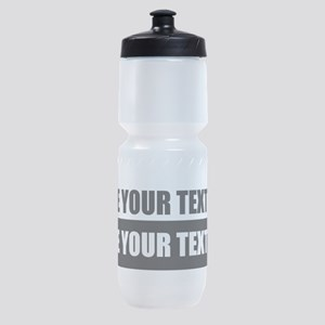 Text message Customized Sports Bottle