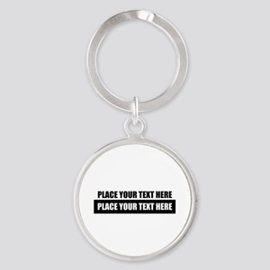 Text message Customized Keychains