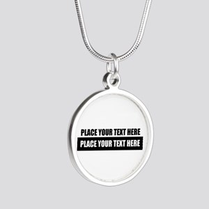 Text message Customized Necklaces