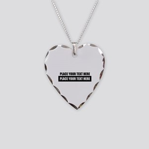 Text message Customized Necklace