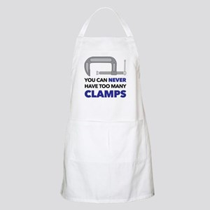 You Can Never Have Too Many Clamps Apron
