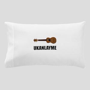 Ukanlayme Ukulele Pillow Case