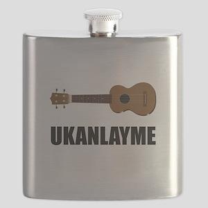 Ukanlayme Ukulele Flask