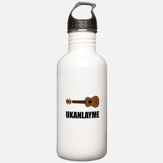 Ukanlayme Ukulele Water Bottle