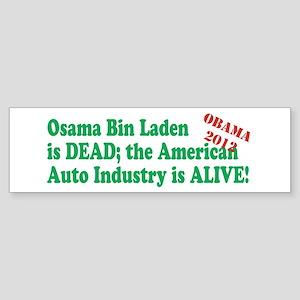 Bin Laden is dead, General Motors is alive! Sticke