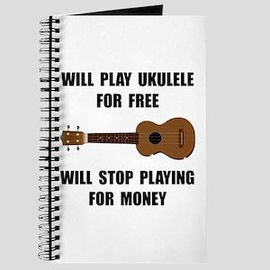 Ukulele Playing Journal