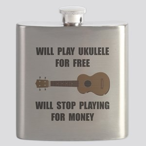 Ukulele Playing Flask
