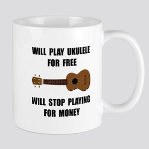 Ukulele Playing Mug