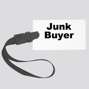 Junk Buyer Large Luggage Tag