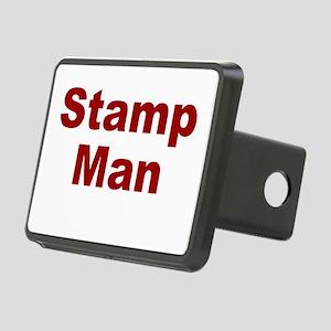 Stamp Man Rectangular Hitch Cover