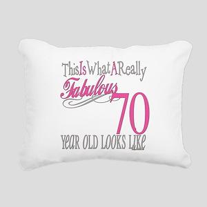 Fabulous 70yearold Rectangular Canvas Pillow