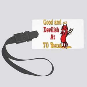 Devislish70 Large Luggage Tag