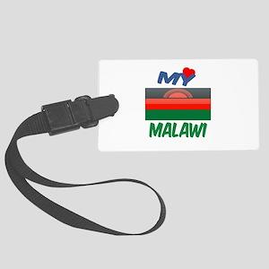 My Love Malawi Large Luggage Tag