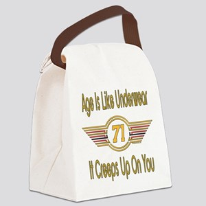 BirthdayUnderwear71 Canvas Lunch Bag
